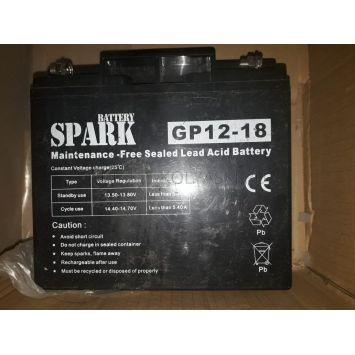 Аккумулятор 12V18AH Spark