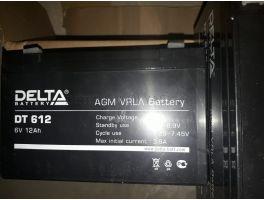 Аккумулятор 6V12AH Delta