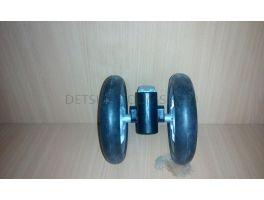 Колесо переднее коляски Peg-Perego Aria 2014 (блок колесный\узел короткий )
