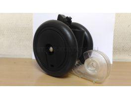 Блок колесный передний PP Pliko Mini (черный)