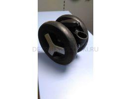 Блок колесный передний Silver Cross Reflex (черный)