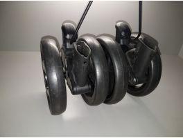 Колесо заднее коляски Peg-Perego Pliko P3 Compact КОМПЛЕКТ (блок колесный-2шт)