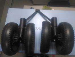 Задние колёса и тормоз Chicco Multiway Evo