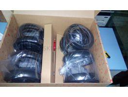 Блок колесный передние+задние КОМПЛЕКТ Maclaren Techno XT Black/Silver