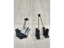 Крепление\узел колесный задний коляски Peg-Perego Pliko Switch Compact (КОМПЛЕКТ)