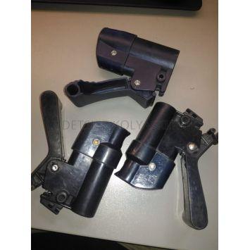 Крепление\узел колесный задний коляски Peg-Perego Pliko P3\A3 (старого образца)