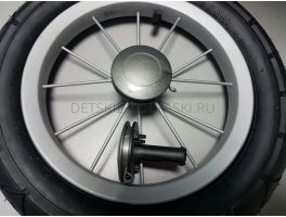 Втулка\крепление колеса коляски Peg-Perego Classic/Culla/Young  (черный) 1шт