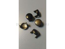 Кнопка регулировки ручки коляски Peg-Perego Gt3 (серый/черный) 1шт