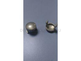 Кнопка ручки коляски Peg-Perego Classico/Culla/Young (серый\черный)