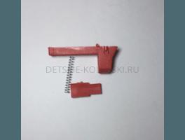 Фиксатор поворота переднего колеса Польша №1 (красный)