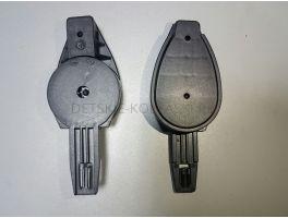 Крепление капюшона прогулочного блока коляски Hartan Vip (трещетка капора)