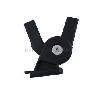 Крепление\фиксатор капюшона коляски Peg-Perego Pop-Up DX (правый\черный)