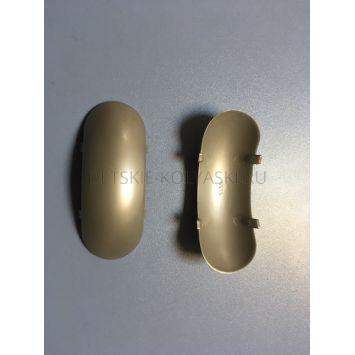 Крышечка верх для накладки декоративной (соед 2е трубы) PP Diner (серый)