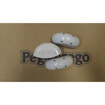 Накладка\колпак декоративный стульчика Peg-Pereg Diner (белый\соед 2е трубы)
